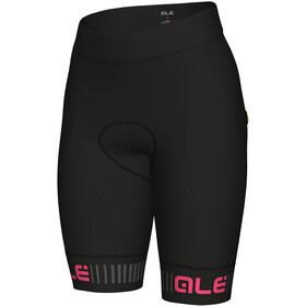 Alé Cycling Solid Traguardo Shorts Women black-fluo pink